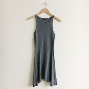 Brandy Melville Grey Skater Mini Dress